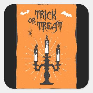 Halloween Candles Sticker