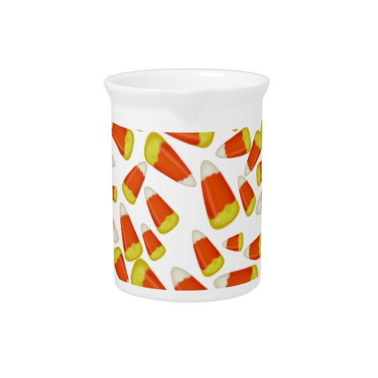 Halloween Candy Corn Beverage Pitcher