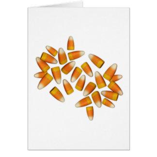 Halloween Candy Corn Card