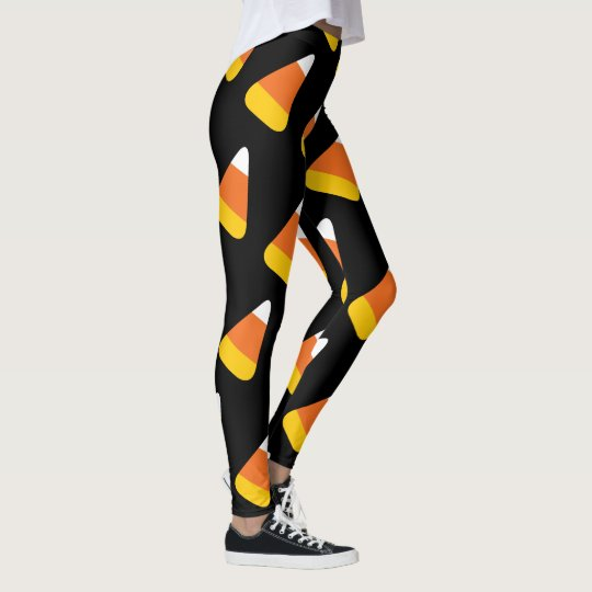 Halloween Candy Corn Leggings