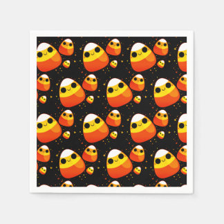 Halloween Candy Corn Paper Napkins