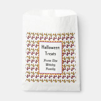 Halloween Candy Corn Pattern Custom Favour Bag