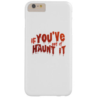 Halloween Candy Funny Haunt It Barely There iPhone 6 Plus Case