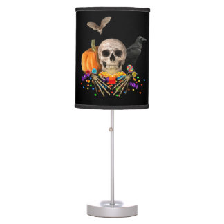 Halloween candy keeper table lamp