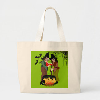 Halloween Candy Tote - Creepy Witches
