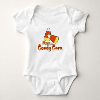 Halloween candycorn baby bodysuit