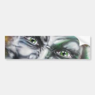 Halloween car sticker Joker
