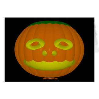 Halloween (card) greeting card