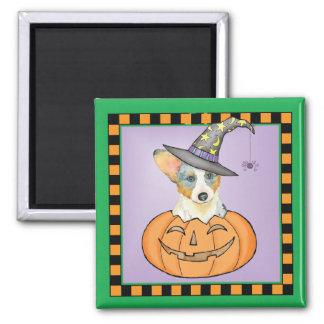 Halloween Cardigan Welsh Corgi Magnet
