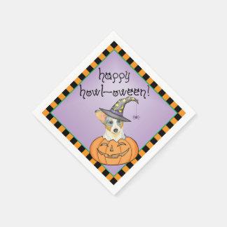 Halloween Cardigan Welsh Corgi Paper Napkin