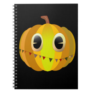 Halloween Cartoon Pumpkin Notebook