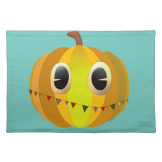 Halloween Cartoon Pumpkin Placemat