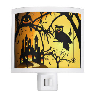 Halloween Castle Night Light