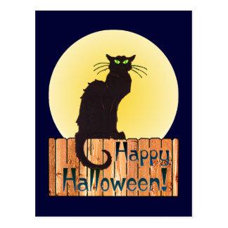HALLOWEEN CAT by SHARON SHARPE Post Card