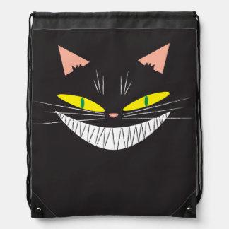 Halloween Cat Cinch Bags