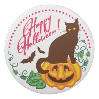 Halloween cat eraser