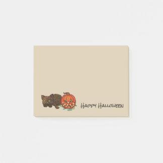 Halloween Cat Post-it Notes