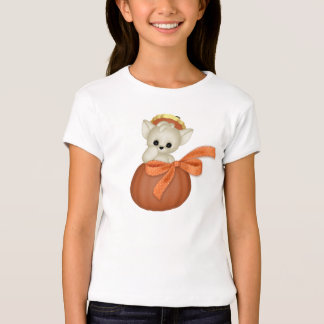 Halloween Cat Pumpkin T-shirt