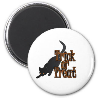 Halloween Cat - Trick or Treat Magnet