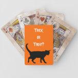 Halloween cats! card deck