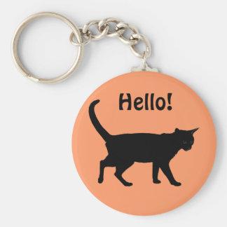Halloween cats! keychain