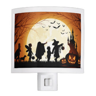 Halloween Children Trick or Treating Nite Lite