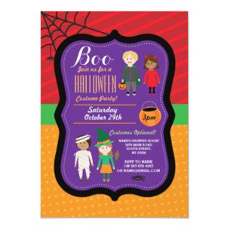 Halloween Children's Costume Party Invite
