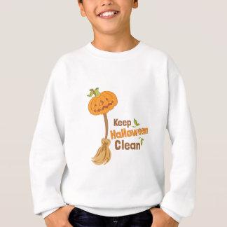 Halloween Clean Sweatshirt