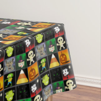 Halloween Collage Tablecloth