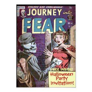 "Halloween Comic Invitation 5"" X 7"" Invitation Card"