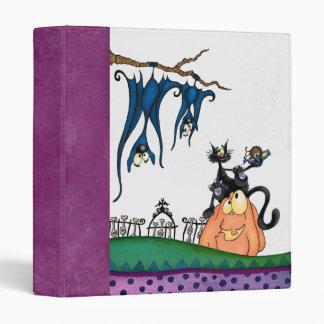 Halloween cook book 3 ring binders