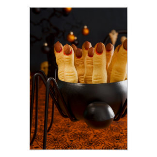 Halloween Cookies - Witch'S Fingers Poster