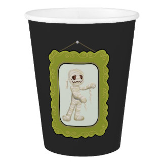 Halloween Costume Kids Birthday Party Paper Cup