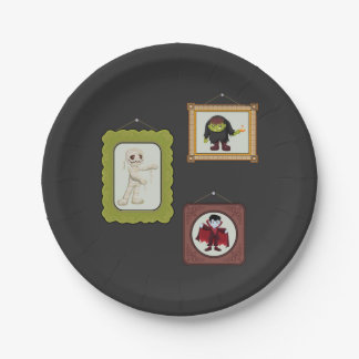 Halloween Costume Kids Birthday Party Paper Plates 7 Inch Paper Plate