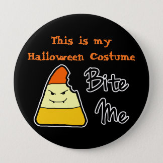 Halloween Costume Large Button