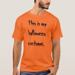 Halloween Costume T-Shirt