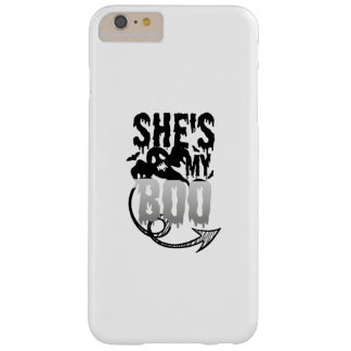 Halloween Couples Funny sHe's My Boo Ghost Barely There iPhone 6 Plus Case