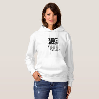 Halloween Couples Funny sHe's My Boo Ghost Hoodie