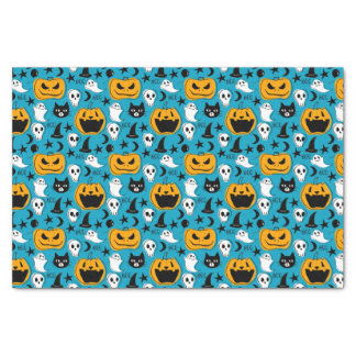 Halloween Creatures Illustration Tissue Paper