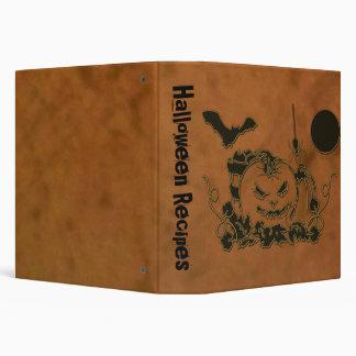 Halloween Creepers Vinyl Binder