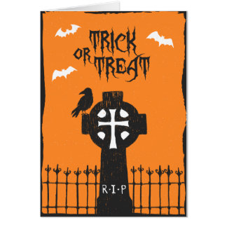 Halloween Cross Card