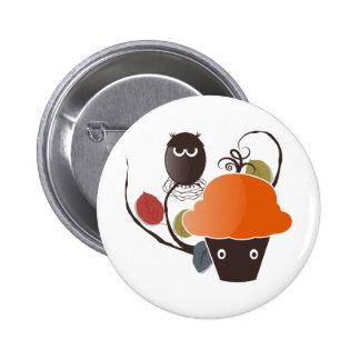 Halloween Cupcake 2 Inch Round Button