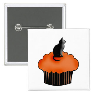 Halloween Cupcake Button