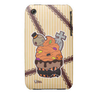 Halloween Cupcake iPhone 3 Case