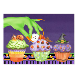 Halloween Cupcake Kitchen Card - SRF Large Business Card