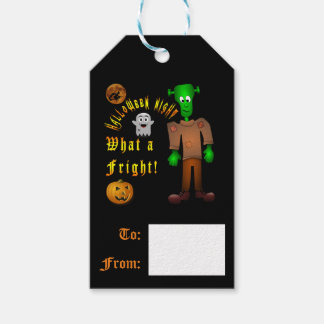 Halloween Custom Gift Tags Pack Of Gift Tags