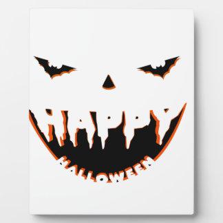 Halloween cute design plaque