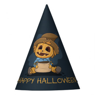 Halloween Cute Jack O' Lantern Party Hat