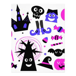 Halloween cute kids edition letterhead
