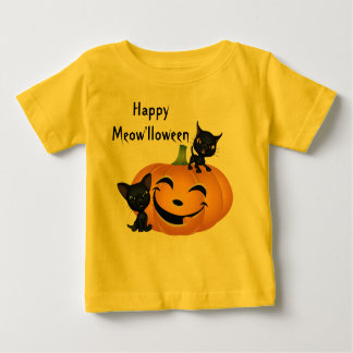 Halloween Cute Kitten Pumpkins Shirt